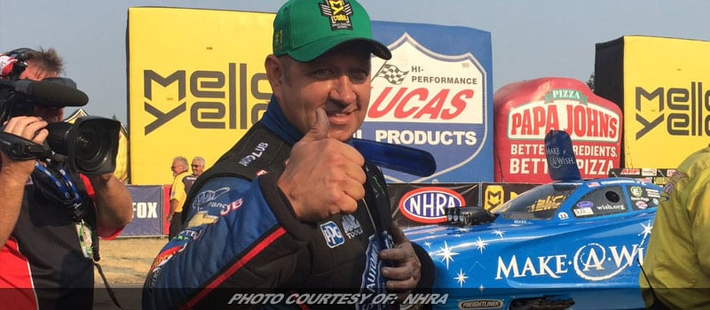 Hight, Brown & Gray Secure #1 Qualifiers For NHRA Northwest Nationals