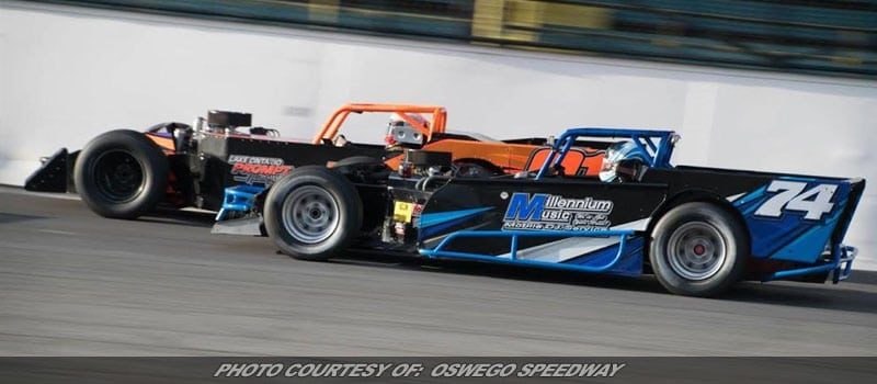 Supermodified 50-Lapper, SBS Twin 20's This Weekend At Oswego
