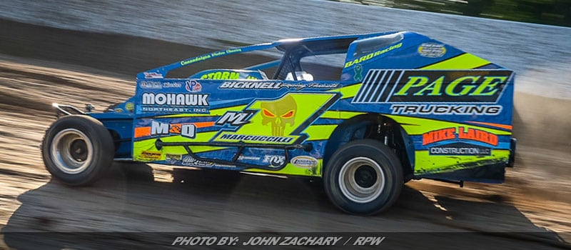 Marcuccilli, Ridley Lead Weedsport's Sportsman Series Points Into Weekend
