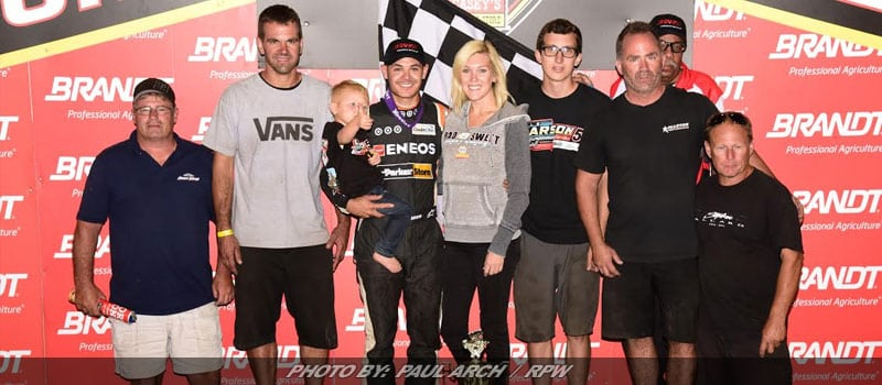 Kyle Larson Continues Dirt Dominance; Scores Prelim Win For Knoxville Nationals