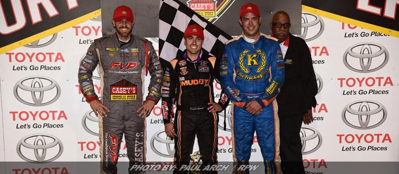 Gravel Earns Pole For Saturday's Knoxville Nationals With 'Perfect' Prelim Night