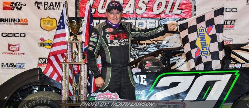 Owens Survives Battle With Lanigan For Lucas Oil LM Dirt Win At Florence