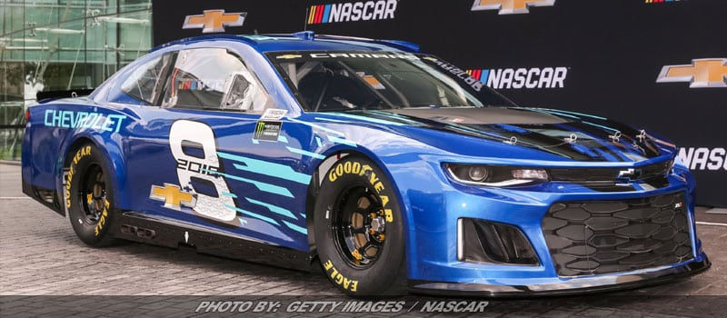 Chevrolet To Use Camaro ZL1 As '18 NASCAR Cup Race Car