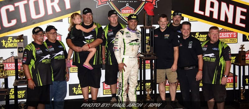 Quest For 10th Complete: Donny Schatz Wins 2017 Knoxville Nationals