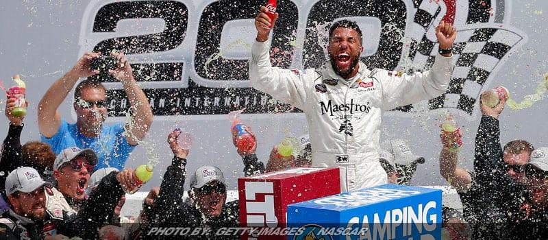 Bubba Wallace Wins NASCAR Truck Series Race At Michigan; Friesen 13th