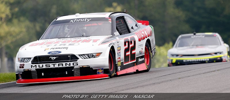 Hornish Edges Hemric To Claim NASCAR XFINITY Race At Mid-Ohio