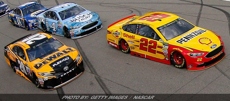 Joey Logano Knows Time Is Short To Make NASCAR's Playoffs