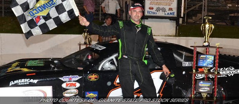 Josh King Wins First Granite State Pro Stock Race In JBH 100