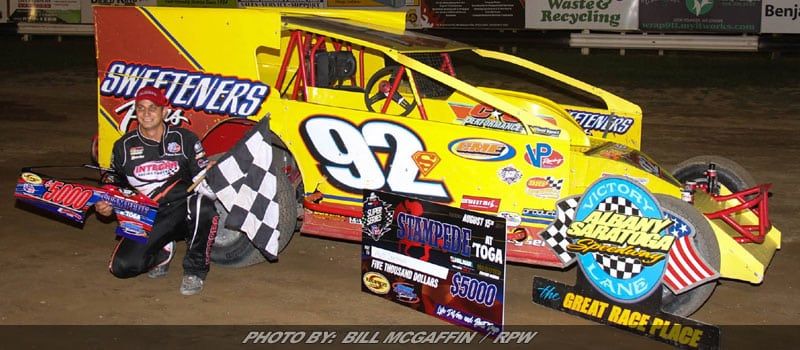 Matt Sheppard Takes Short Track Super Series 'Stampede At 'Toga'