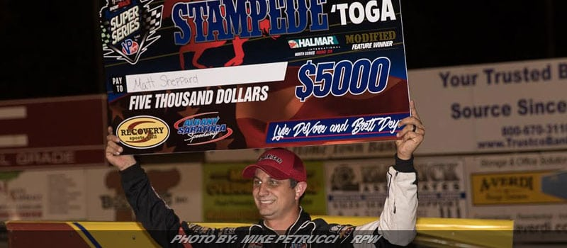 Matt Sheppard Uses Luck Of The Draw To Dominate At Albany-Saratoga