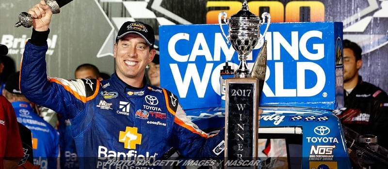Kyle Busch Puts On Clinic For Fifth NASCAR Truck Series Win At Bristol
