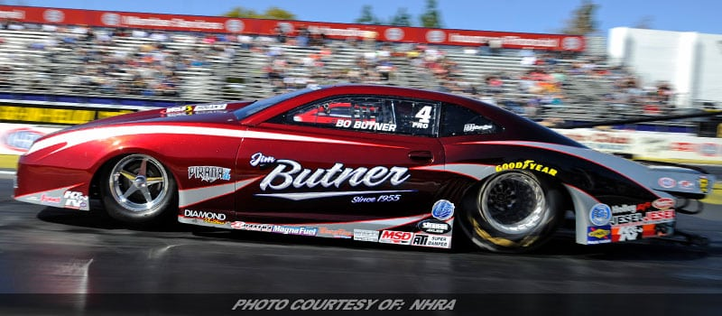 NHRA Pro Stock Leader Bo Butner Looking To Build On Standout Season