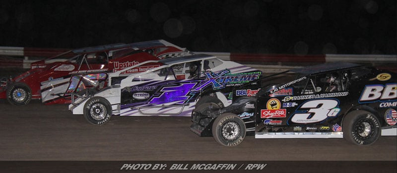 King Of Dirt Tripleheader Plus Modifieds On Night Of Legends At Utica-Rome Sunday