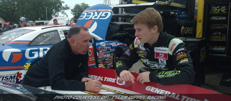Tyler Dippel Returns To ARCA Racing Series Competition At Springfield Mile