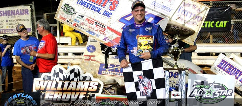Dietrich Beats All Stars At Williams Grove For Jack Gunn Memorial Title
