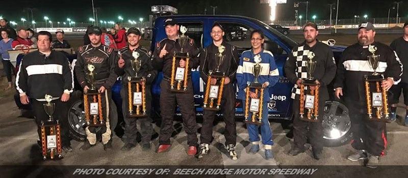 Champions Crowned As Beech Ridge's '17 Thursday Night Thunder Season Closes