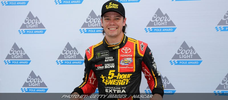 Erik Jones Wins First Career NASCAR Cup Pole At Bristol – By An Eyelash