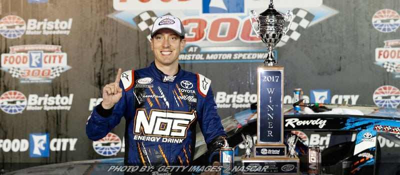 Kyle Busch Dominates For Ninth NASCAR XFINITY Victory At Bristol