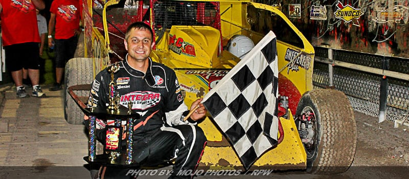 Another Friday Night, Another Win For Sheppard At Outlaw Speedway
