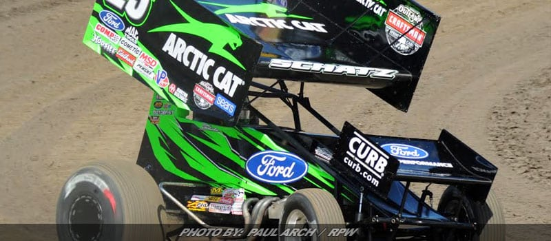 Schatz Scores 17th WoO Sprint Win Of Season At River Cities