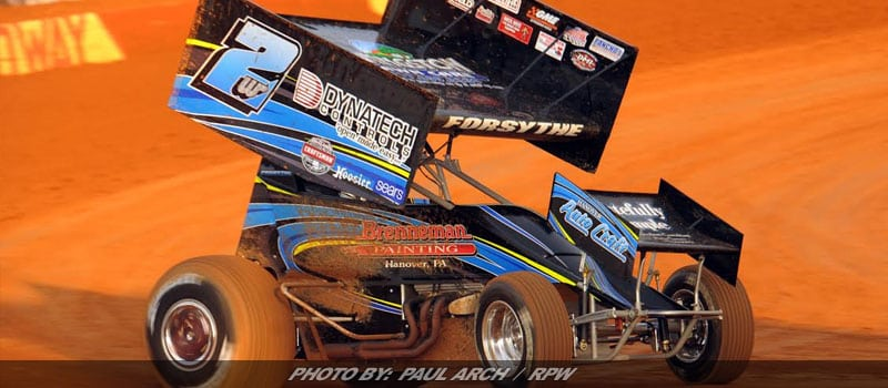 Glenndon Forsythe Earns $5,000 All Star Sprint Win In The Pigeon Hills