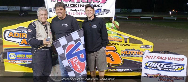 Perrotte Takes Checkers At Airborne Park Speedway
