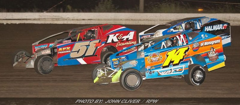 Ryan Watt Takes Victory Saturday Evening At Bridgeport Speedway