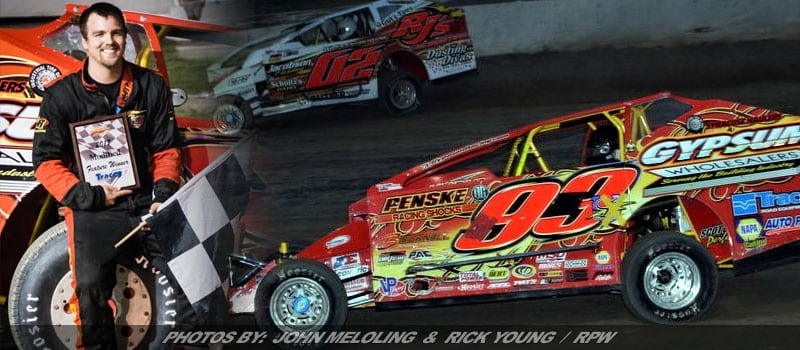 Tim Sears Jr. Uses Borrowed Ride To Take Home Modified Feature At Fulton