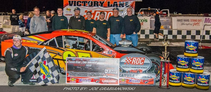 Skora Grabs First Modified Win In Tommy Druar / Tony Jankowiak Memorial At Lancaster