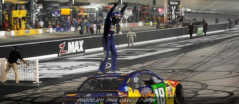 Kyle Busch Completes Three-Series Sweep With Thrilling NASCAR Cup Win At Bristol