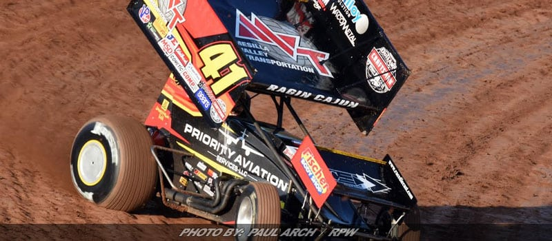 Jason Johnson Goes Flag-To-Flag For WoO Sprint Win At Red River Valley