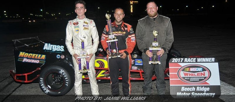 Anthony Nocella Wins 75-Lap Modified Feature At Beech Ridge
