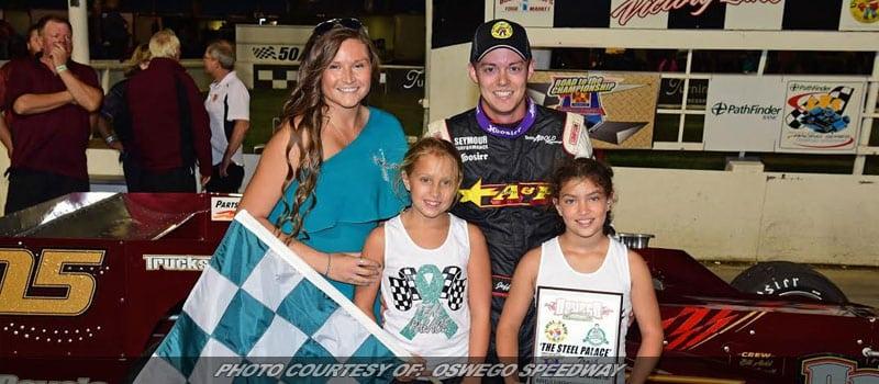 Jeff Abold Wins Race, Dave Shullick Jr. Wins Title At Oswego