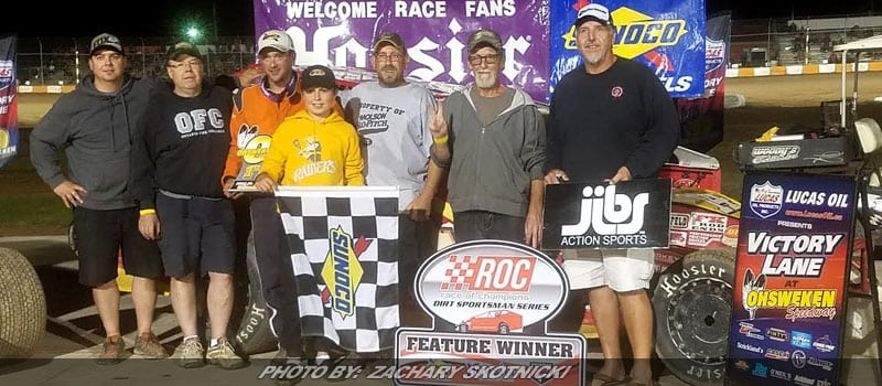 Chevalier Outduels Rouse For RoC Sportsman Series Win At Ohsweken