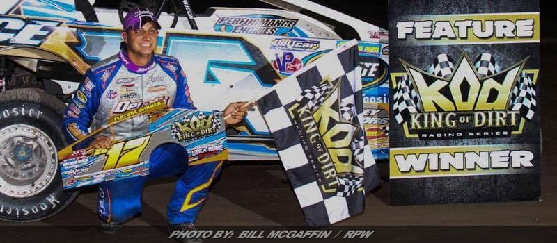 Matt Sheppard Earns King Of Dirt 358-Mod Win At Utica-Rome