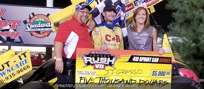 JJ Grasso Grabs Third Jersey Rush Win; Pauch Jr. Powers To Modified Victory