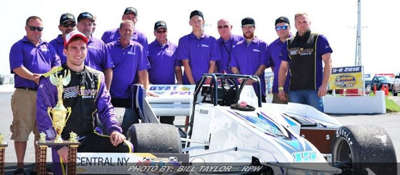 CNY Chevy Dealers Returns To Back Front Row For Oswego's Int'l Classic 200