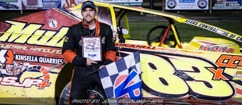 Tim Sears Takes First Of 2017 At Brewerton Speedway