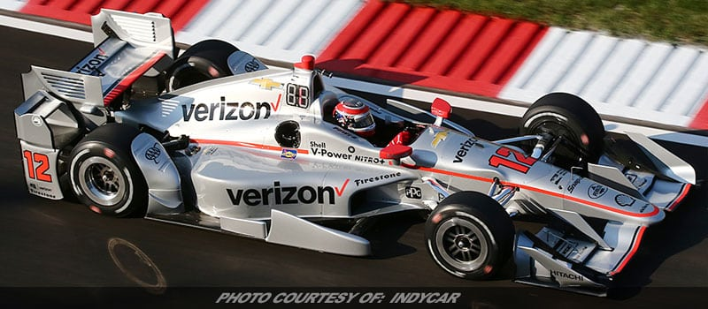 Power Breaks Gateway Track Record, Earns 50th Career IndyCar Pole