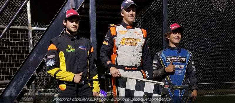 Poirier Takes ESS A-Main Victory At RPM Speedway
