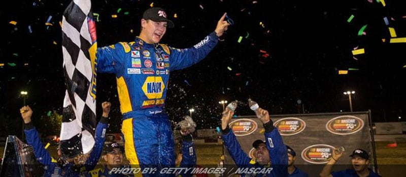 Gilliland Edges Eggleston For NASCAR K&N West Series Win At Douglas