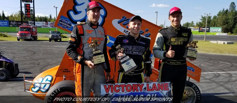 Billings First Career ESS Win Comes On Asphalt At Autodrome Chaudiere