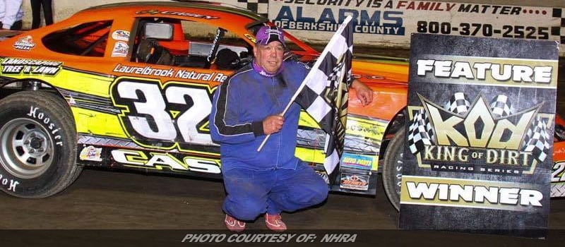 Jay Casey Earns Popular Win In King Of Dirt Pro Stock Event At Lebanon Valley