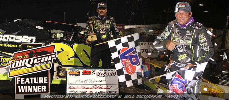 Hearn Uses Home Track Advantage To Win Mr. DIRT Track USA & End Series Winless Streak