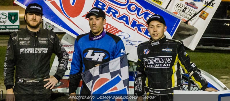 Danny Varin Passes Jason Barney On Final Lap For ESS Win At Brewerton