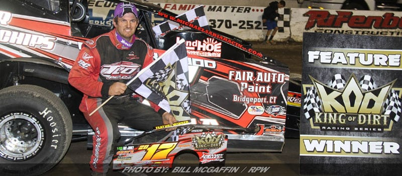 Sabia Earns King Of Dirt Mr. Crate Track USA Victory At Lebanon Valley