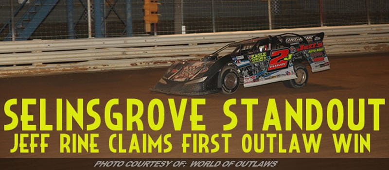 Jeff Rine Claims First Career WoO Late Model Series Win At Selinsgrove