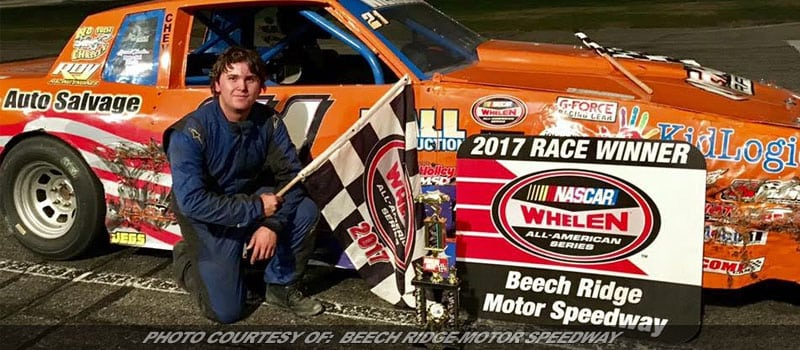 16-Year-Old Zach Nicholson Steals Show With First Victory In Beech Ridge Finale
