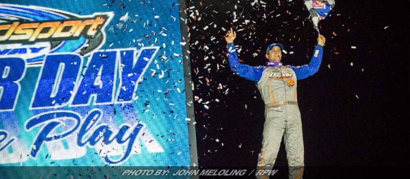 Sheppard Gets Back On Track With Super DIRTcar Series Win At Weedsport