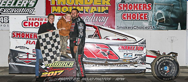 Creeden Goes Back-To-Back As Thunder Mountain's Modified Champion